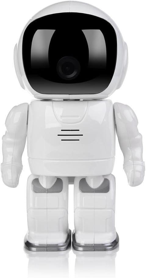 GMM Wifi Robot Ip Cámara Hd Baby Monitor 960P Wireless P2P Cámaras De Seguridad De Audio Remote Home Monitoring Soporte De Almacenamiento De Memoria: Amazon.es: Hogar