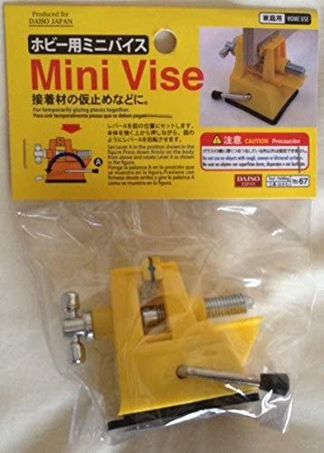 Mini Vise for Hobby(for Temporarily Pieces Together)