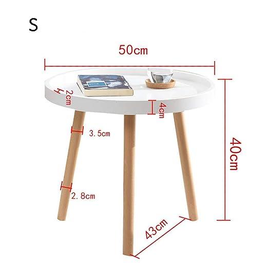 Mesa pequeña simple Mesa auxiliar moderna Mesa de oficina Sofá de ...