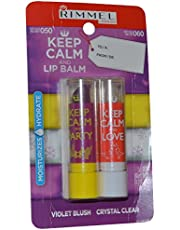 Rimmel Keep Calm and Love Lip Balm Violet Blush by Rimmel