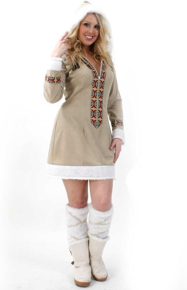 Gurimotex Party Discount – Nuevo Mujer Disfraz de Esquimal para ...
