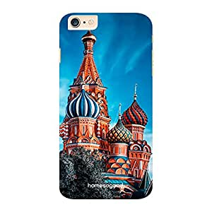 HomeSoGood St. Basil's Cathedral Blue 3D Mobile Case For iPhone 6 Plus (Back Cover)