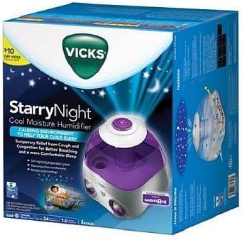VICKS STARRY NIGHT Cool Moisture Humidifier V3700 Blue