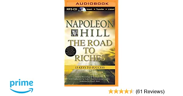 Napoleon hill the road to riches 13 keys to success think and napoleon hill the road to riches 13 keys to success think and grow rich audio napoleon hill greg s reid 9781491517987 amazon books fandeluxe Gallery