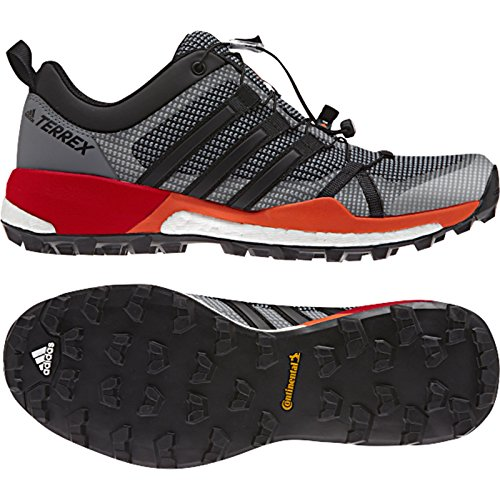 Adidas Outdoor Heren Terrex Skychaser Schoen Vista Grijs / Zwart / Energie
