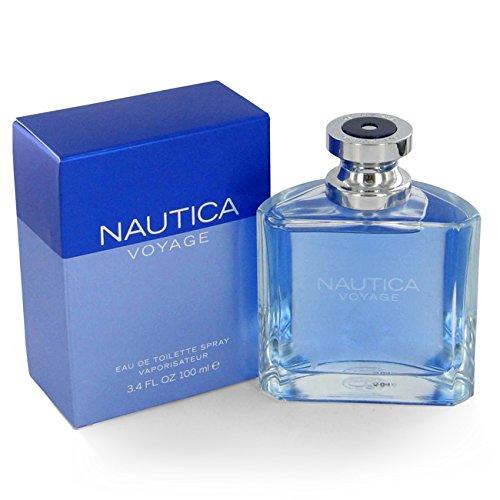 Nautica Voyage By Nautica For Men Eau De Toilette Spray Parfum  3.4 fl oz / 100 ml