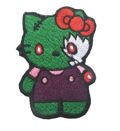 Amazon. Com: hello kitty-tactical patch armbands velcro patch (7).