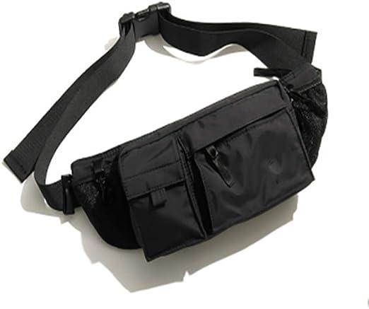 Riñonera Fanny Pack Black Waist Bag Viaje Senderismo Hip Bum Purse ...