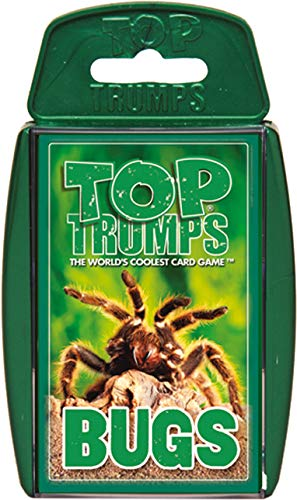 Bugs Top Trumps Card Game (Insect Playing Cards)