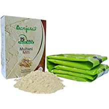Fuller's Earth Clay / Multani Mitti Powder, Indian Clay Face Mask (1 x 100 gm)