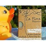 La Flora Organics Baby Soft Handmade Mild Soap Bar - with Sheabutter, Lavender & Calendula, 100 gms