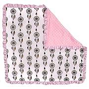 Dear Baby Gear Baby Blankets, Dreamcatcher, Pink Minky
