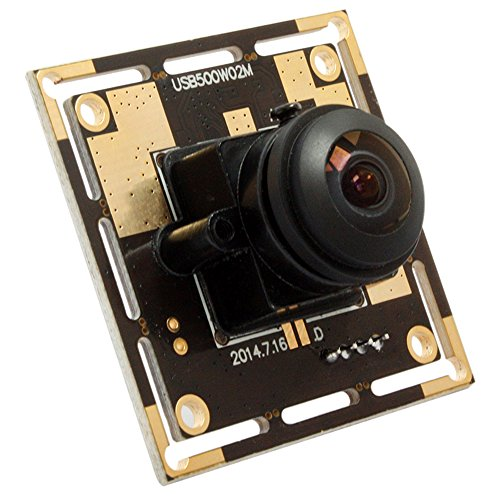 5 Magapixel USB Camera 170 Degree Fisheye Camera High Definition 2592X1944 USB Webcamera with CMOS OV5640 Image Sensor USB with Camera, Wide Angle Machine Vision Mini Webcam,Web Cams Plug&Play UVC by Camera USB (Image #2)