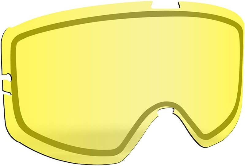 509 Kingpin Tear Off Lens Chrome Mirror//Yellow Tint