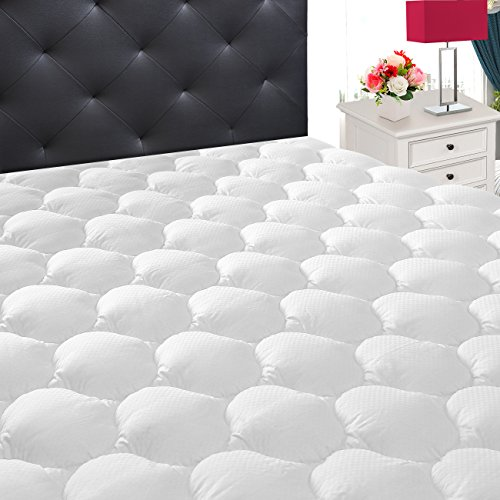 - Ecomozz California King Mattress Pad Cover with (8-21
