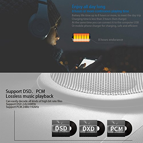 Docooler xDuoo X10T HiFi Music Player Digital Turntable Player High Resolution Lossless Audio Player WM8805 JZ4760B DSD APE FLAC w/ 2 inch Screen by Docooler (Image #8)