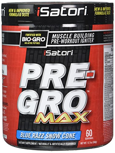iSatori Pre Gro Supplement Blue Ounce product image