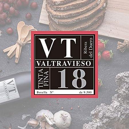 VT Tinto Fino - Vino Tinto Ribera del Duero Denominación de Origen/Vino de Páramo |Tinto Fino 100% | 1 Botella 750 ml/Ud