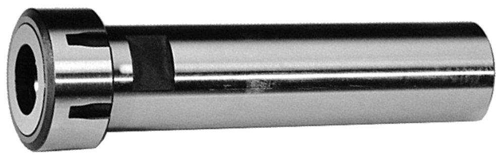 Lyndex E16-EXT-750 ER16 Straight Shank Collet Chuck Extension, 0.019'' - 0.406'' Collet Range, 3/4'' Diameter x 5.89'' Length