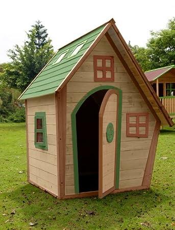 Kinderspielhaus Hexenhaus Lavender Amazonde Garten