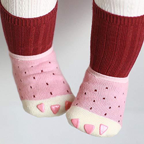 Mi Chaussure S Slip Bateau Baby De Chaussettes Et Bateau Chaudes Rose Foonee Anti qETxzFRnw