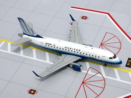 Gemini Jets United Express  Blue Tulip  Erj 170 Diecast Aircraft  1 200 Scale
