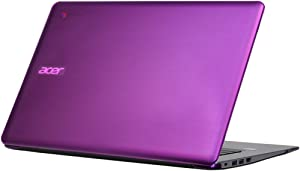 "iPearl mCover Hard Shell Case for 14"" Acer Chromebook 14 CB3-431 Series Laptop (Purple)"