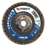Flap Disc, 4-1/2inx40Grit, 5/8-11, 13000RPM