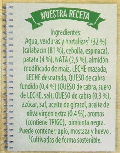 Knorr Las Clásicas Crema de Calabacín con Queso de Cabra - Paquete de 8 x 1 L - Total: 8 L: Amazon.es: Alimentación y bebidas