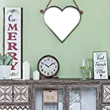 NIKKY HOME Antique Mantel Clock, Battery Operated