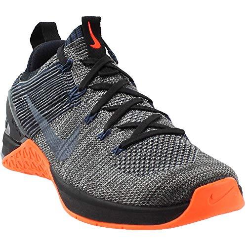 NIKE Metcon DSX Flyknit 2 924423 045 Black/Thunder Blue Men's Training Shoes (9.5 D(M) US) ()