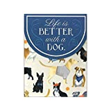 Molly & Rex Pocket Note Pad Life is Better with a Dog by Molly & Rex