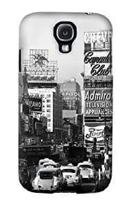S0182 Old New York Vintage Case Cover for Samsung Galaxy S4