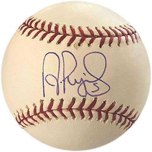 - Albert Pujols Autographed 2004 World Series Baseball