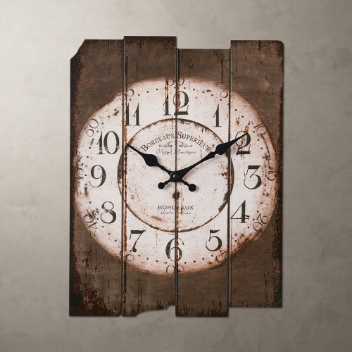 LightInTheBox 15' Country Style Vintage Wall Clock Home Decor Design Wall Clocks