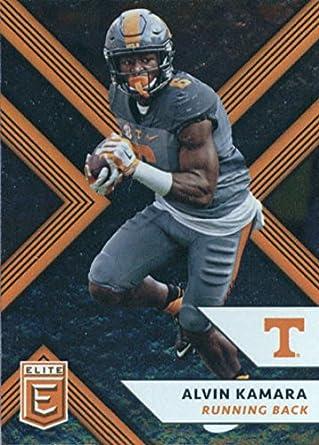 2018 Panini Elite Draft Picks  51 Alvin Kamara Tennessee Volunteers Football  Card 38d66913a