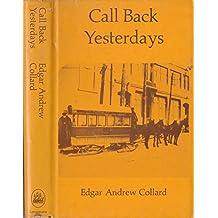 Call Back Yesterdays