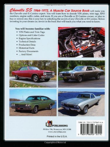 Chevelle ss 1964 1972 a muscle car source book jeffrey steffes chevelle ss 1964 1972 a muscle car source book jeffrey steffes 9780972986946 amazon books fandeluxe Gallery