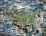 American Aviation Jigsaw Puzzle 1000pc