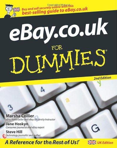 eBay.co.uk For Dummies: Amazon.es: Hoskyn, Jane, Hill, Steve ...
