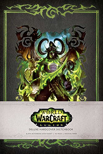 World of Warcraft: Legion Hardcover Blank Sketchbook (1) (Gaming)