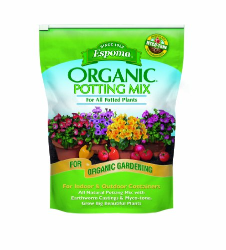 Espoma AP8 8-Quart Organic Potting Mix (Potting Soil Plants)