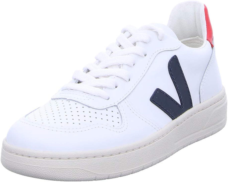 VEJA - VXW021267 - Sneaker V10 Leather Extra White Nautico Pekin