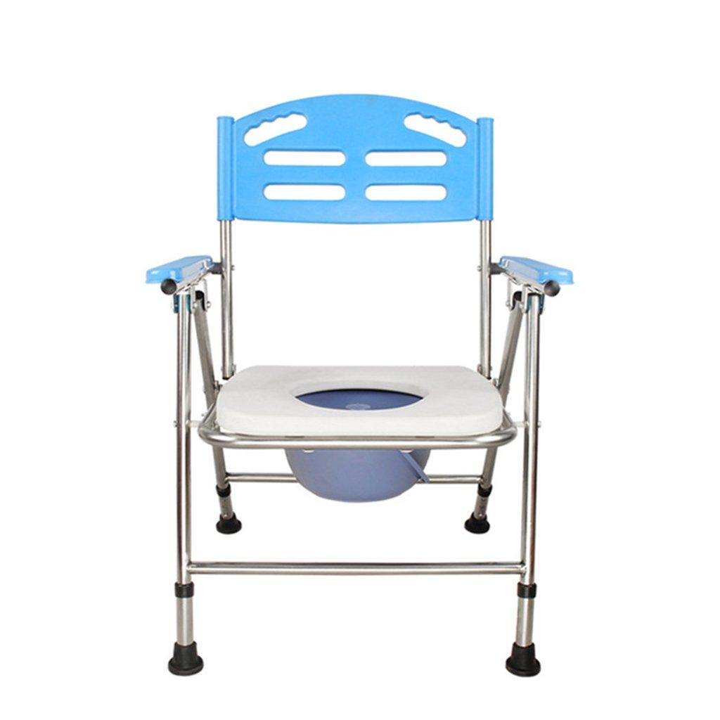 GRJH® シャワー椅子、折りたたみ式滑り止め安定老人妊婦トイレ椅子バスルームアルミ合金製バスチェア 防水,環境の快適さ   B079GGP45K