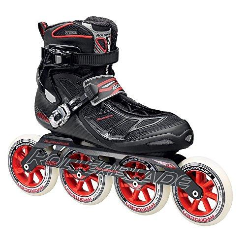 Rollerblade Tempest 110 Inline Skates Black / Red-9