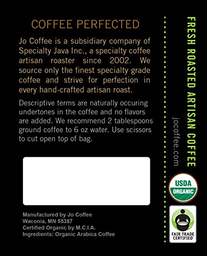 NO-FUN-JO-DECAF-12-oz-Organic-Decaf-Coffee-Swiss-Water-Process-Fair-Trade-Certified-Medium-Dark-Roast-Whole-Bean-Arabica-Coffee-USDA-Certified-Organic-NON-GMO