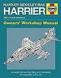Hawker Siddeley/Bae Harrier Manual (Owners' Workshop Manual)
