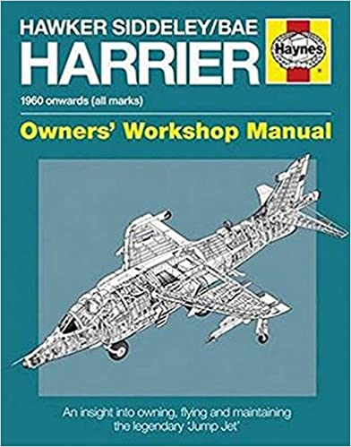 Hawker Siddeley/BAE Harrier Manual: 1960 Onwards (All Marks) - An insight into the history, development, production and role of the revolutionary ... combat aircraft (Owners' Workshop Manual)
