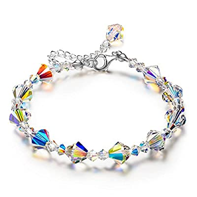 "LADY COLOUR ""A Little Romance"" ?Valentine's Day Gift? Crystal Bracelet Series, Made with SWAROVSKI Crystals - [Gift Packaging]"