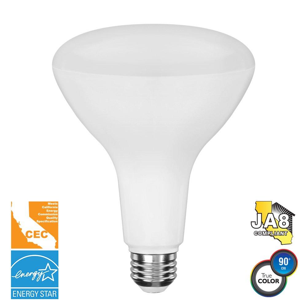 Euri Lighting EB40-4020cec BR40 Light Bulb, E26 Base, 1000 lm, CRI 90+, 2700K